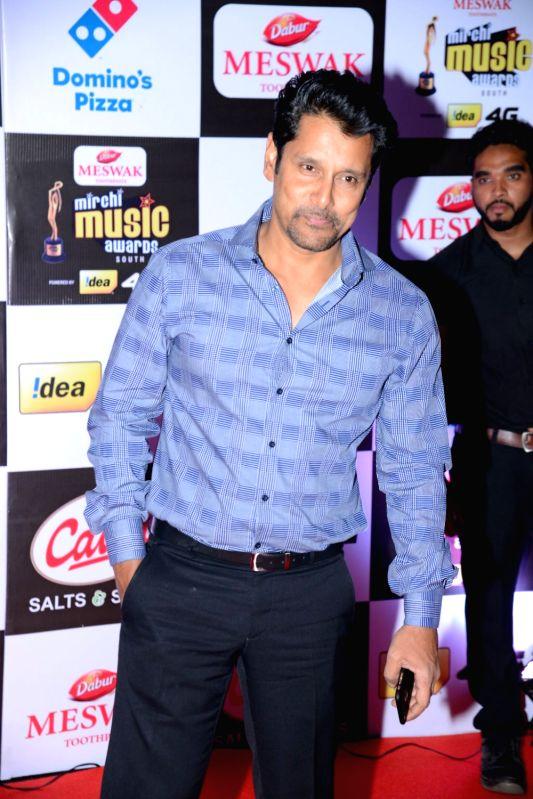 Vikram at Mirchi Music Awards South 2016, on July 27, 2016.