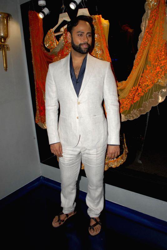 VJ Andy during the store opening of designer Mayyur Girotra in Mumbai, on April 18, 2014.