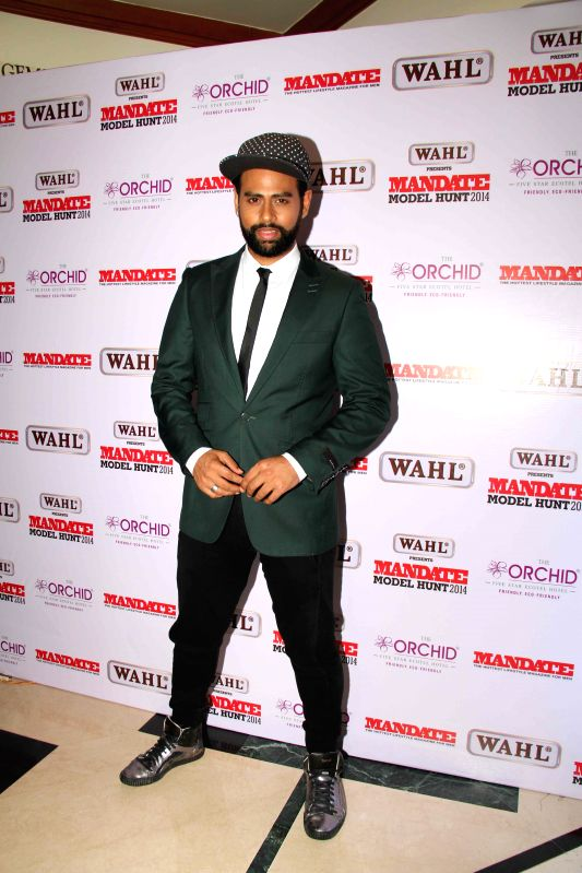VJ Andy during the Wahl Mandate Male Model Hunt 2014, in Mumbai, on Aug. 24, 2014.