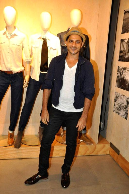 VJ Yudhishtir during the preview and launch of Khadi Collection by Levis, in Mumbai, on Aug. 26, 2014.
