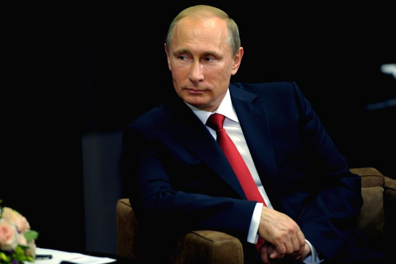 Vladivostok: President of the Russian Federation Vladimir Putin sent greetings to the guests and participants of the 5th Eastern Economic Forum, which will be held on 4–6 September in Vladivostok. (Photo: IANS)