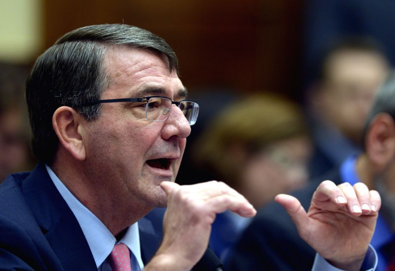 U.S. Defense Secretary Ashton Carter testifies before a House Armed Services Committee hearing on the President's Proposed Authorization for the Use of ...