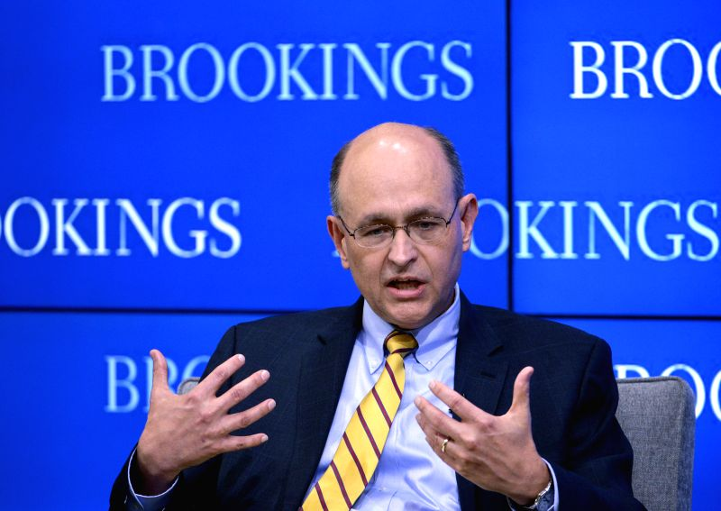 WASHINGTON D.C., May 25, 2016 - Nathan Sheets, U.S. Treasury's undersecretary for international affairs, speaks at a Brookings event to preview the eighth China-U.S. Strategic and Economic Dialogue, ...