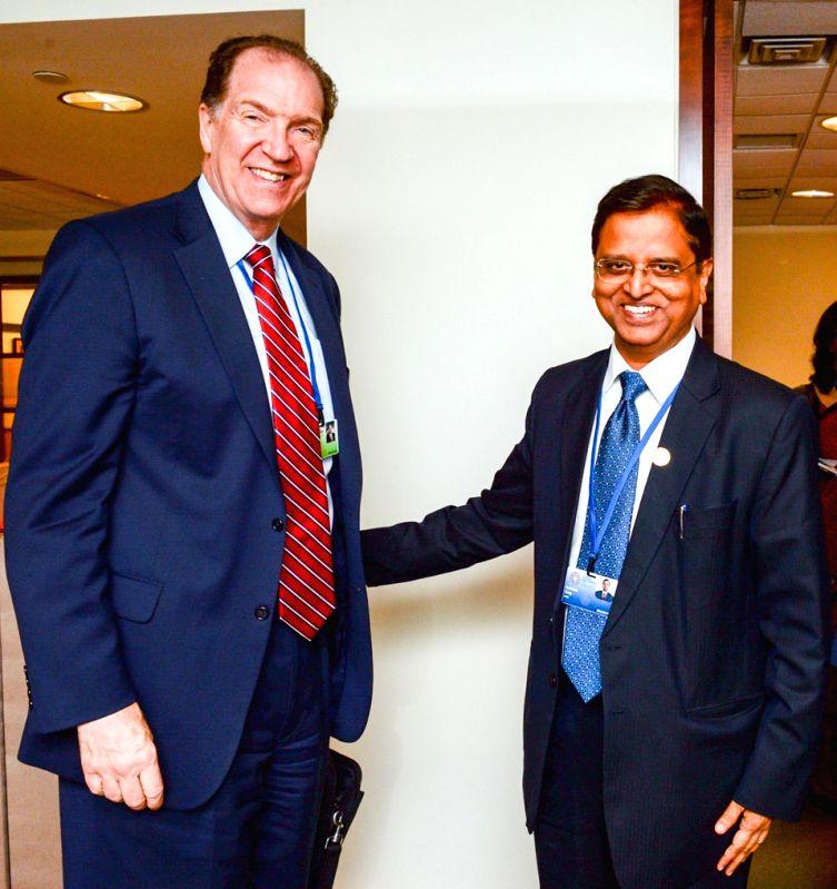 Washington DC: Department of Economic Affairs (Finance) Secretary Subhash Chandra Garg meets the Under Secretary for International Affairs at the U.S. Department of the Treasury, David R. Malpass, ...