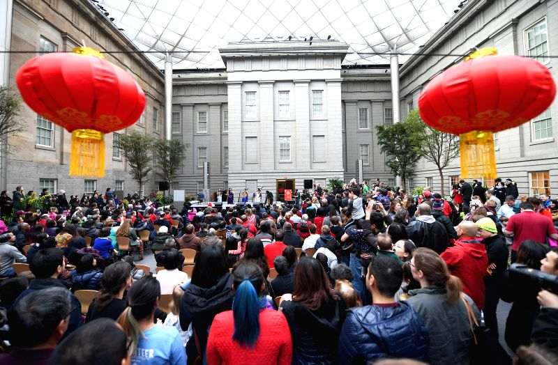 U.S.-WASHINGTON D.C.-CHINESE LUNAR NEW YEAR-CELEBRATION