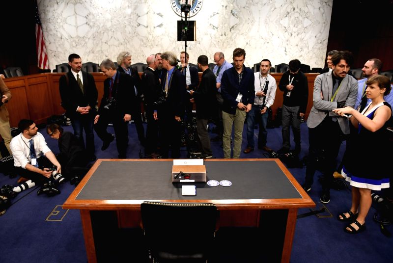 WASHINGTON, June 8, 2017 - Photographers wait for the arrival of former Director of Federal Bureau of Investigations James Comey before a Senate Intelligence Committee hearing on Capitol Hill, in ...