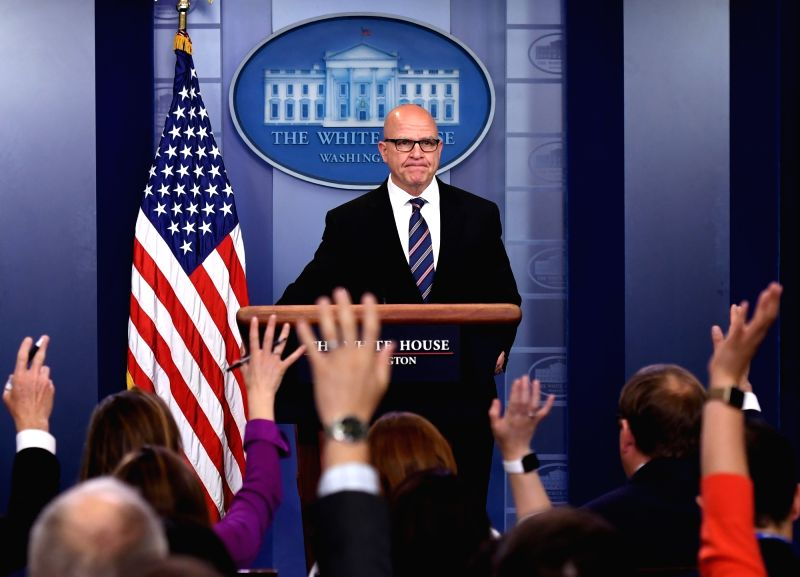 WASHINGTON, May 16, 2017 - U.S. National Security Advisor H.R. McMaster answers questions during a press briefing at the White House in Washington D.C., the United States, on May 16, 2017. National ...