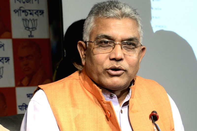 West Bengal BJP President Dilip Ghosh. (Photo: IANS)(Image Source: IANS News)