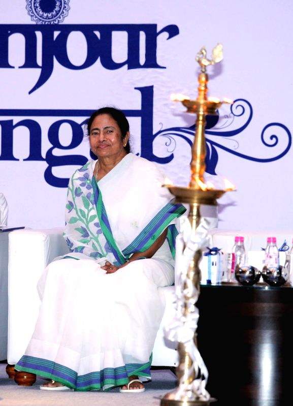 West Bengal Chief Minister Mamata Banerjee  at the inauguration of a hotel in Kolkata on Sept 1, 2014. - Mamata Banerjee