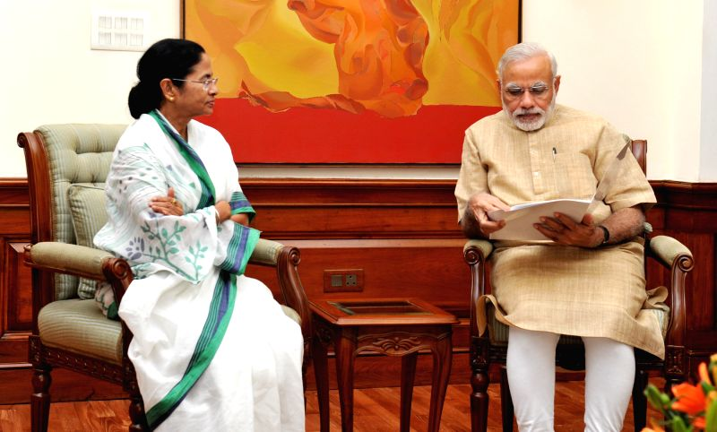 West Bengal Chief Minister Mamata Banerjee calls on Prime Minister Narendra Modi (File Photo)