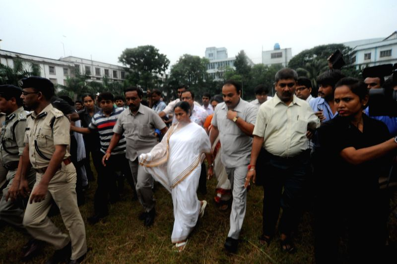 Mamata Banerjee at Presidency University