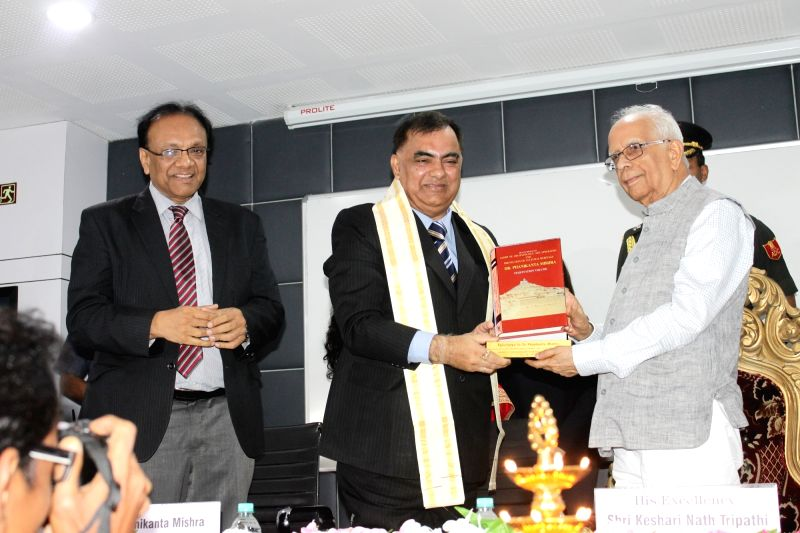 West Bengal Governor Kesari Nath Tripathi during a book launch in Kolkata on July 18, 2016. - Kesari Nath Tripathi