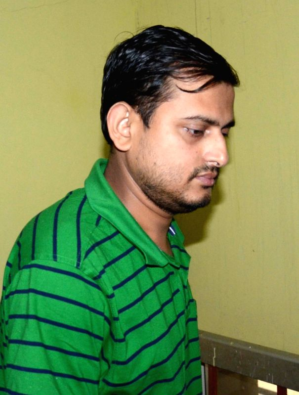 West Bengal Trinamool Congress General Secretary Shankudeb Panda arrives to appear before CBI in connection with the multi-crore-rupee Sardha chit fund scam in Kolkata, on Dec 2, 2015.