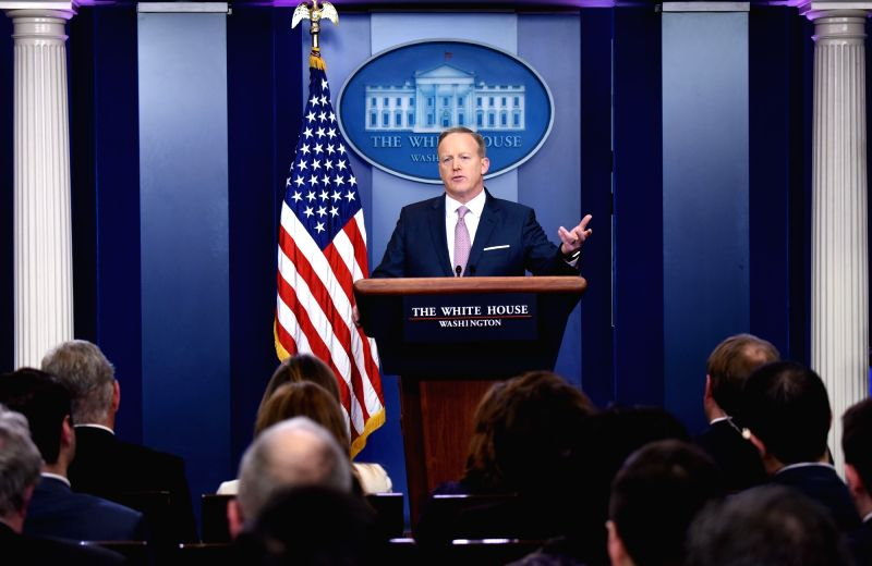 White House Press Secretary Sean Spicer. (File Photo: IANS)