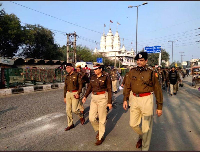 Woman Corona Warrior Delhi's Western Range Joint Commissioner Of Police Shalini Singh. (Photo: Sanjeev Kumar Singh Chauhan)