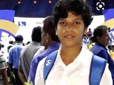 Women cricketer Richa Ghosh.