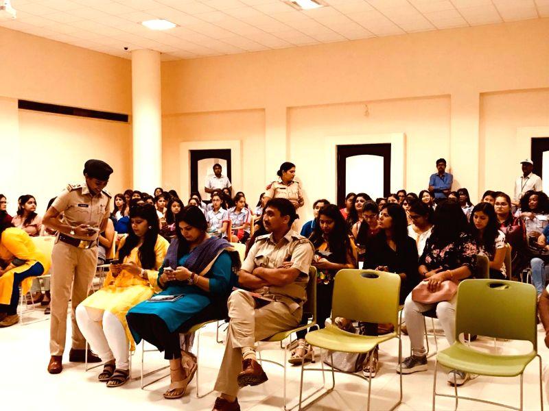 Women safety awareness drive held in Gurugram.
