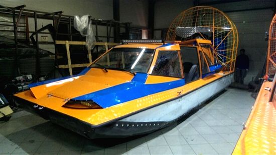 World\'s first amphibious aeroboat made by an Indo-Russian joint venture