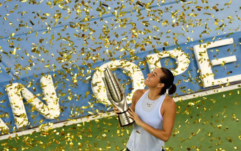 CHINA-WUHAN-TENNIS-WTA-WUHAN OPEN-FINAL