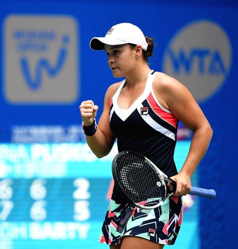 Ashleigh Barty: CHINA-WUHAN-TENNIS-WTA-WUHAN OPEN-DAY 7