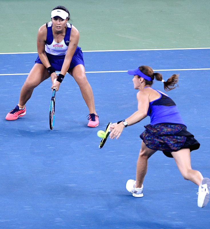 CHINA-WUHAN-TENNIS-WTA-WUHAN OPEN-FINAL - Martina Hingis