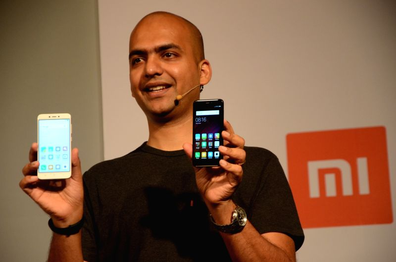 Xiaomi India Managing Director Manu Kumar Jain at the launch of Redmi 4, Redmi 4A and Mi Router 3C in Mumbai, on June 1, 2017. - Manu Kumar Jain