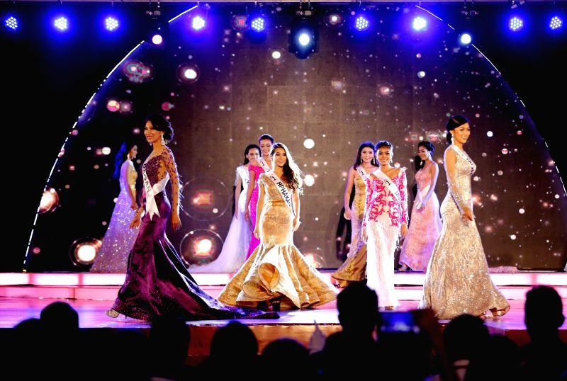 YANGON, Sept. 30, 2017 - Contestants participate in the Miss Universe Myanmar 2018 pageant in Yangon, Myanmar, Sept. 30, 2017. Miss Universe Myanmar on Saturday crowned Hnin Thway Yu Aung, ...