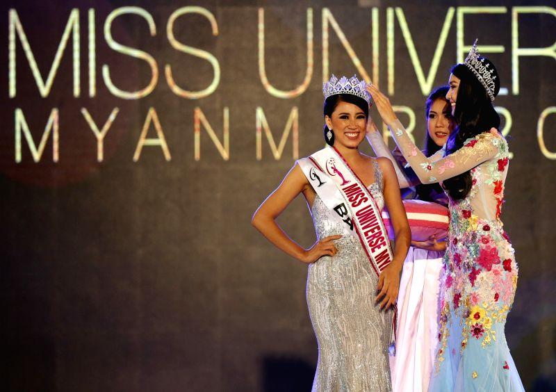 MYANMAR-YANGON-MISS UNIVERSE MYANMAR 2018