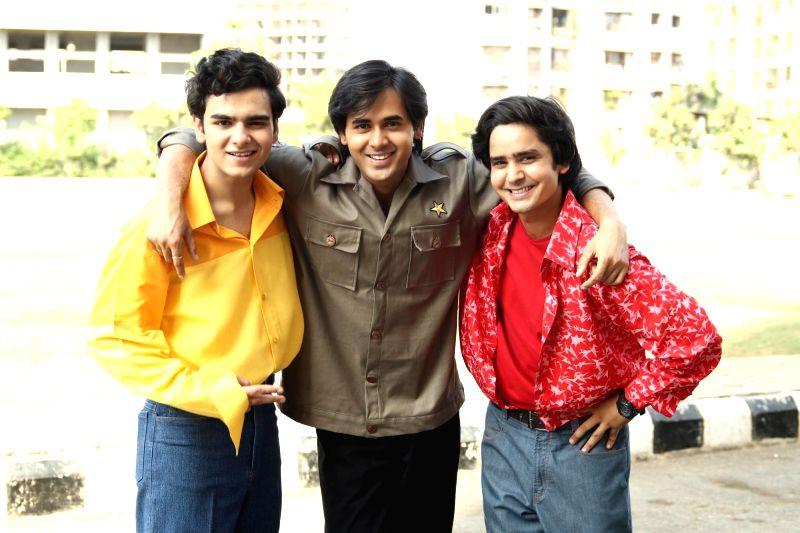 """Yeh Un Dinon Ki Baat Hai"""" actors Raghav Dhir, Randeep Rai and Sanjay Choudhary - Raghav Dhir, Randeep Rai and Sanjay Choudhary"""