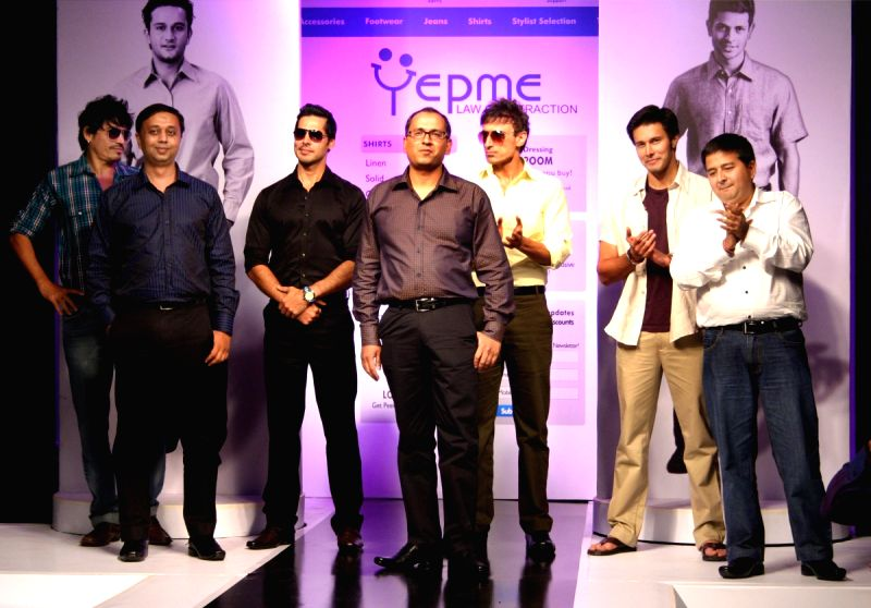 Yepme India's frist online fashion brand showcased its private label men's apparel,footwear and ...