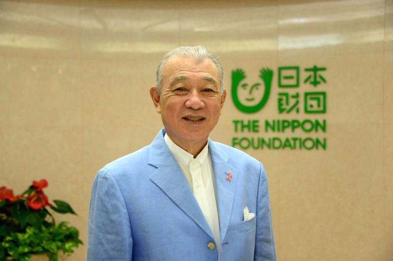 Yohei Sasakawa, Chairman of The Nippon Foundation.