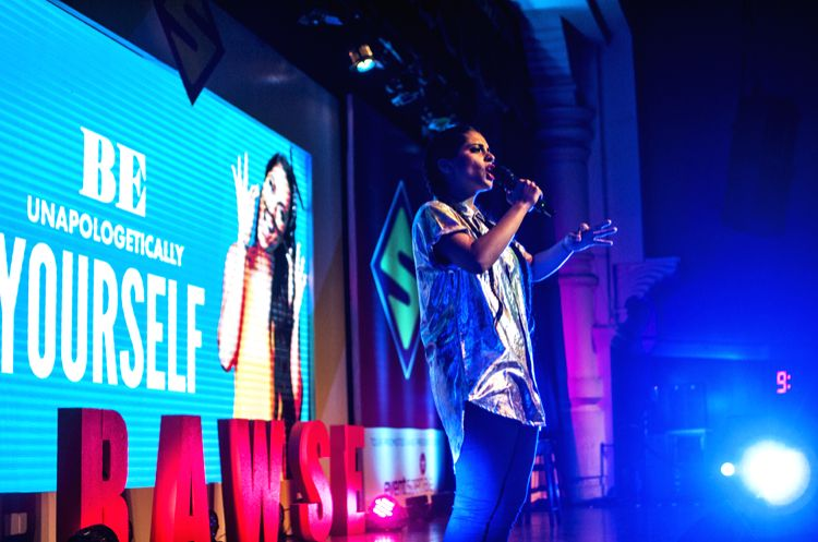 YouTube sensation Lilly Singh performing at Mumbai - Lilly Singh
