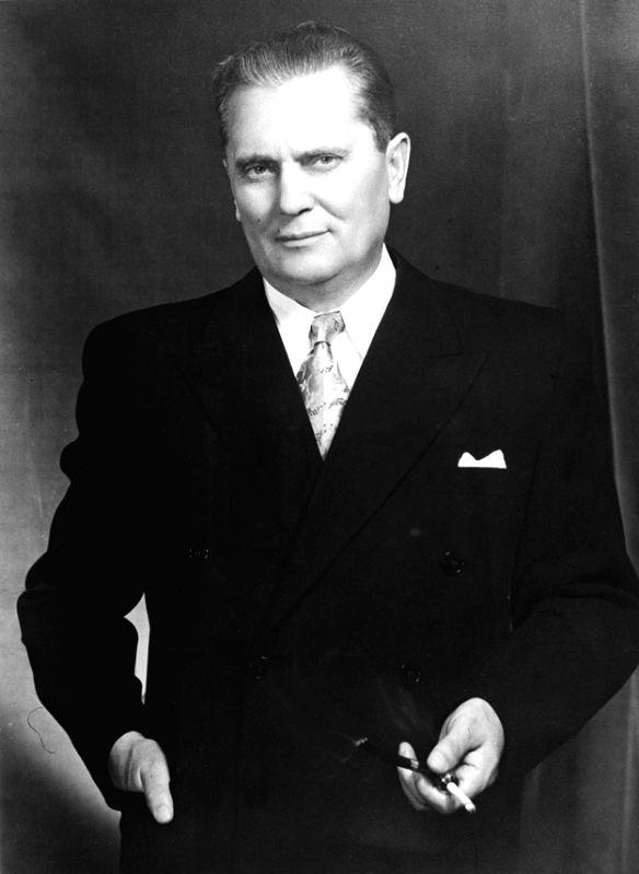 Yugoslav leader Josip Broz Tito in his later life