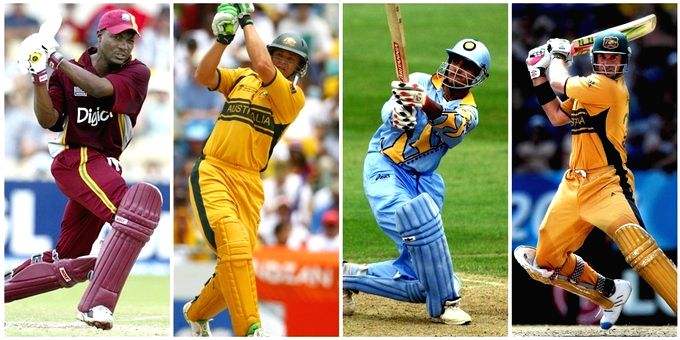 Yuvraj pays tribute to 'greatest left-handed legends'.