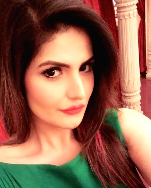 Zareen Khan starts fundraiser for former tutor's treatment.
