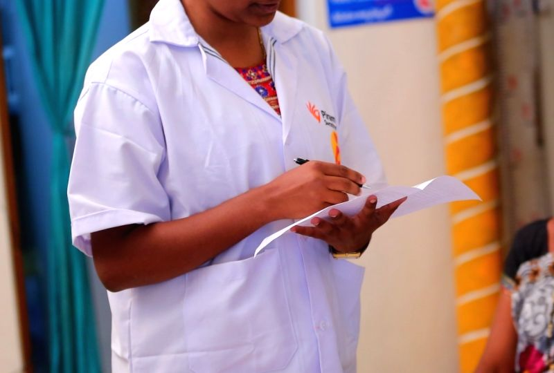 Auxillary Nurse Midwives support women through their pregnancy, child birth and neonatal period while keeping the government machinery in the loop.