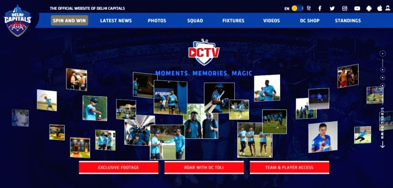 Delhi Capitals reinvents virtual fan engagement this season