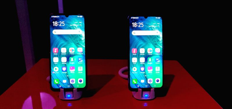 Newly launched Vivo S1 in New Delhi on Aug 7, 2019.