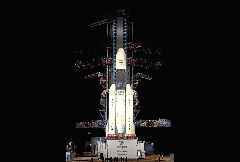 Sriharikota: The launch of Chandrayaan-2 launch was called off due technical snag on July 15, 2019. (Photo: IANS/ISRO)