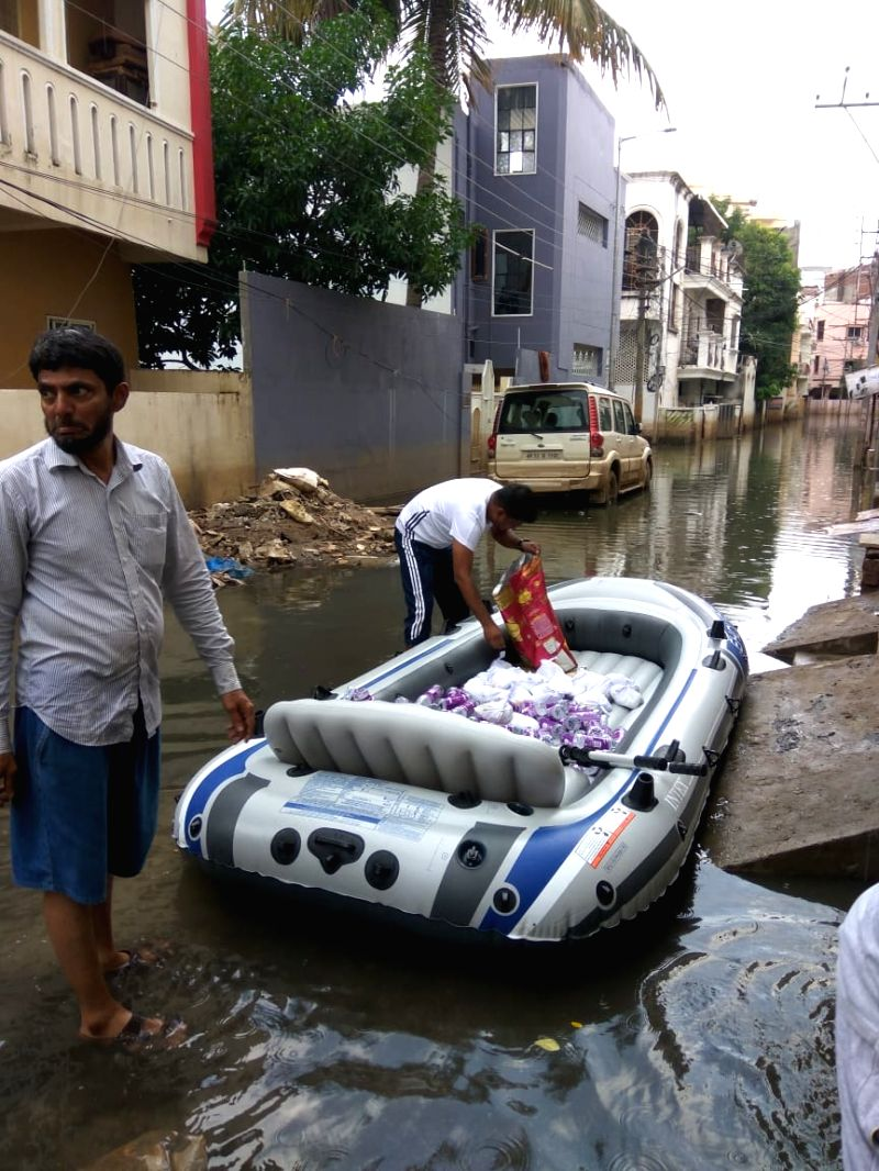 Why residents of this Hyderabad colony procuring boats.