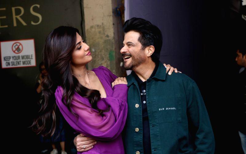 Shilpa Shetty and Anil Ka