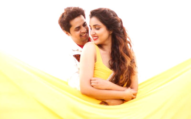 Rupali Bhosle and Ankit Magare ring in V-Day mush
