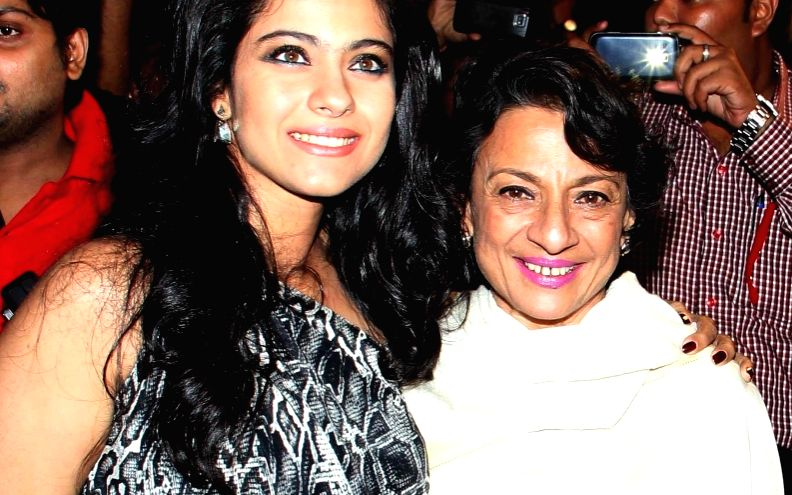 Kajol wishes mom Tanuja o