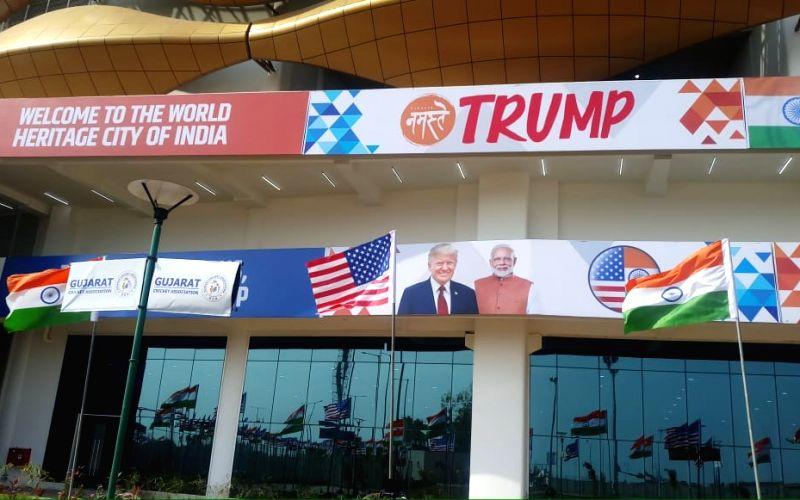 Ahmedabad ready to say Namaste Trump amid tight security