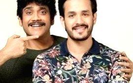 Father-son duo Akhil-Nagarjuna set to storm the screen