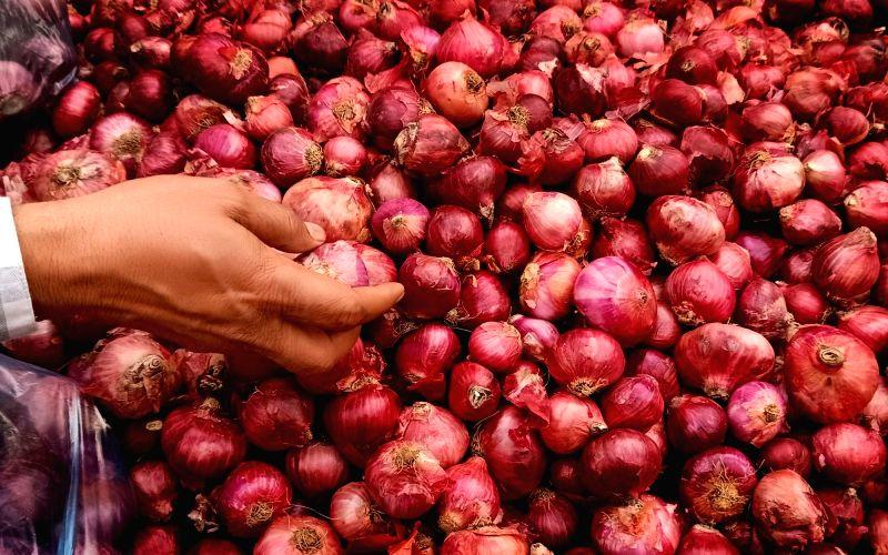 Onion cheaper in Noida than Delhi