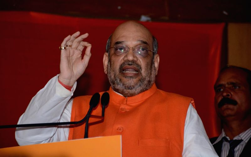 Amit Shah infected with Swine Flu, admitted to AIIMS
