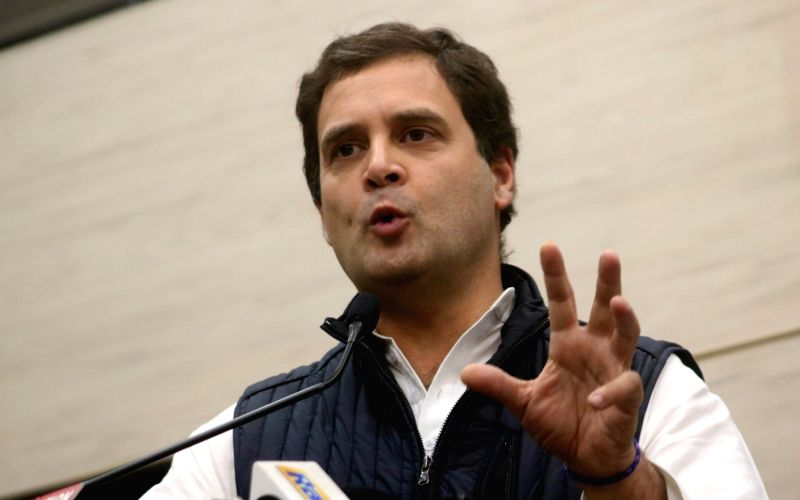 Sewer worker's death: Rahul says PM's Swachh Bharat a hollow slogan