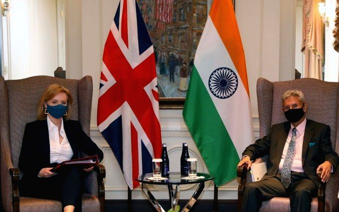 Jaishankar urges UK Forei