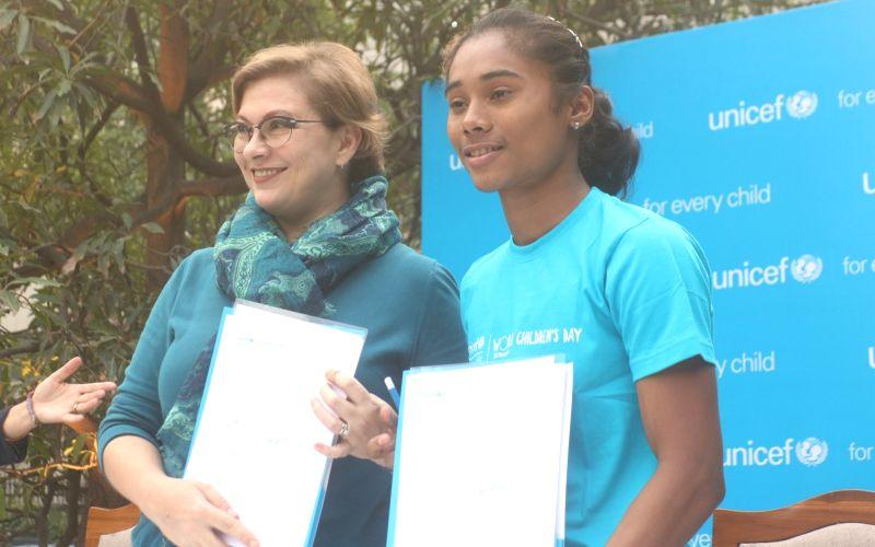Hima Das is Unicef-India's 1st youth ambassador